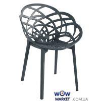 Кресло Flora Матовый антрацит 22с 2312 Papatya (Турция)