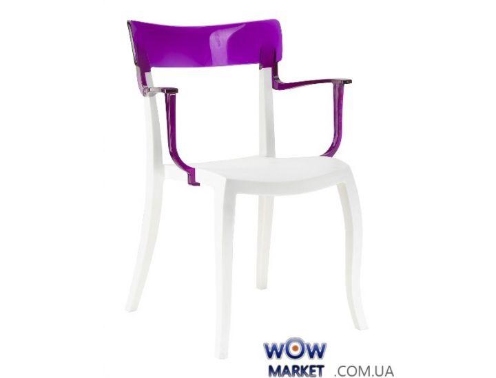 Кресло Hera-K 2347 верх прозрачно-пурпурный 28 Papatya (Турция)