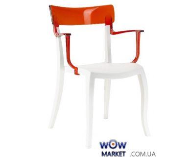 Кресло Hera-K 2348 верх прозрачно-красный 29 Papatya (Турция)