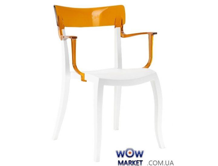 Кресло Hera-K 2349 верх прозрачно-оранжевый 33 Papatya (Турция)