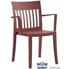 Кресло Eden-K 2642 матовое 51с красный кирпич Papatya (Турция)
