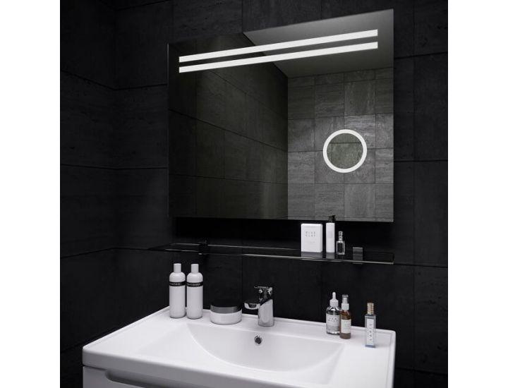 Зеркало с светодиодной LED подсветкой Lava Della 80*65 см