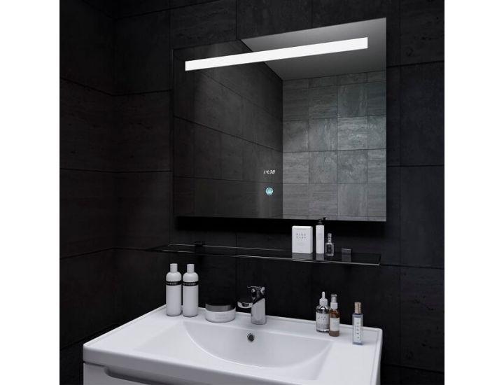 Зеркало с светодиодной LED подсветкой Lava DeLuxe 90*65 см