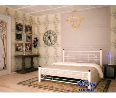 Кровать Винтаж 120х200(190)см квадратные ноги Skamya (Скамья)