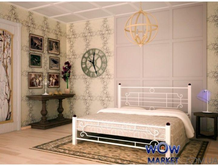 Кровать Винтаж 160х200(190)см квадратные ноги Skamya (Скамья)