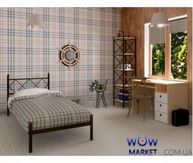 Кровать Домино 90х200(190)см Skamya (Скамья)