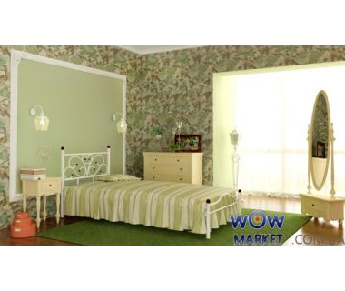 Кровать Эрика 120х200(190)см Skamya (Скамья)