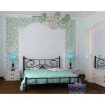 Кровать Ювента без изножья 160х200(190)см Skamya (Скамья)