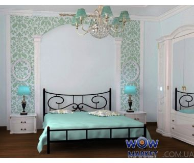 Кровать Ювента 120х200(190)см Skamya (Скамья)