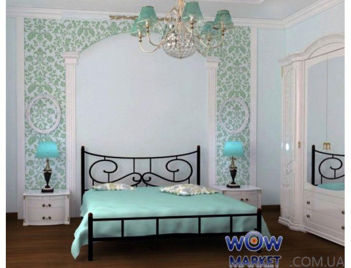 Кровать Ювента без изножья 120х200(190)см Skamya (Скамья)
