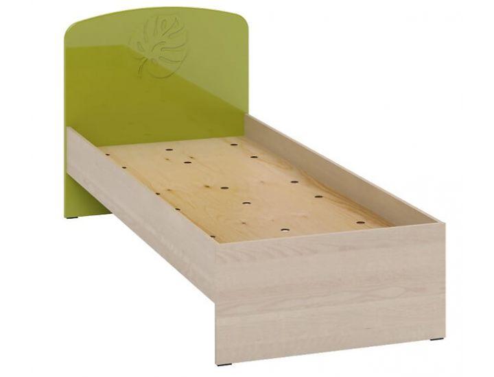 Детская кровать Маугли МДМ-11 без ламелей лайм