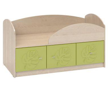 Детская кровать Маугли МДМ-1 лайм