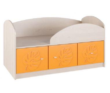 Детская кровать Маугли МДМ-1 оранжевая