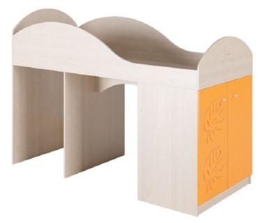 Детская кровать-чердак Маугли МДМ-2 оранжевая