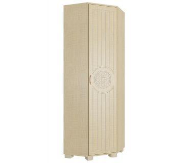 Шкаф угловой платяной Монблан МБ-2 венге светлый