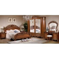 Спальня Слониммебель Аллегро 1Д1 с 6-ти дверным шкафом, орех