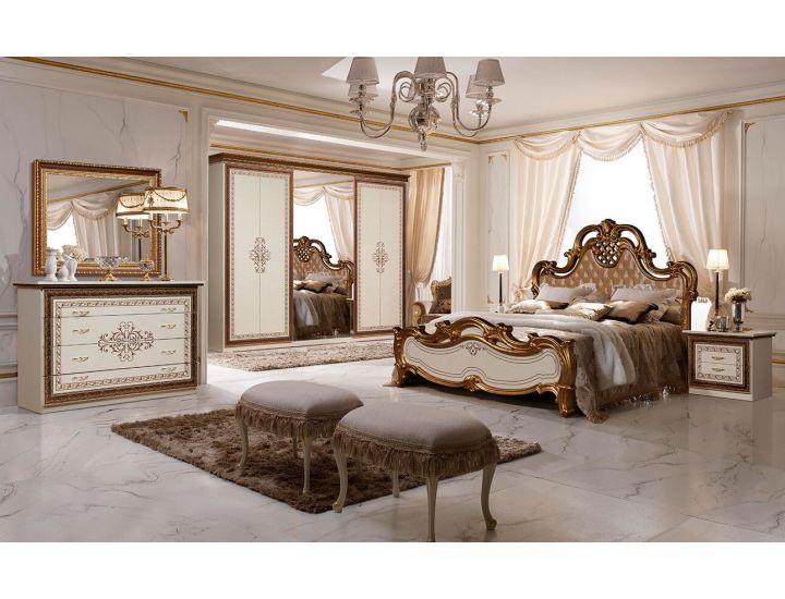 Спальня Слониммебель Анита с 6-ти дверным шкафом, белый
