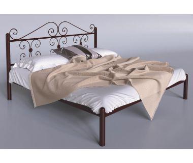 Кровать металлическая Бегония TENERO (ТЕНЕРО)