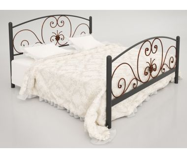 Кровать металлическая Нимфея TENERO (ТЕНЕРО)
