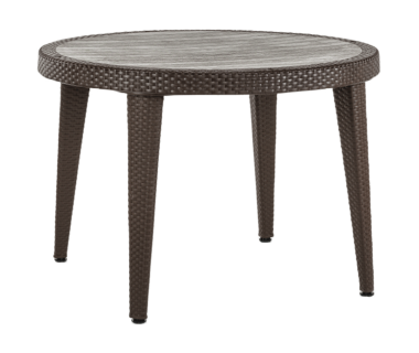 Стол Tilia Osaka d110 см ножки пластиковые венге