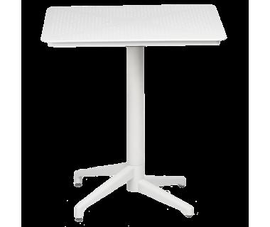 Стол с откидной столешницей Tilia Moon 70x70 см белая слоновая кость