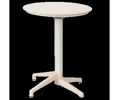 Стол с откидной столешницей Tilia Moon-S d70 см кремовий