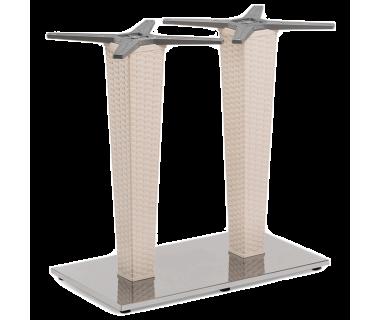 База стола Tilia Antares Double кремовый