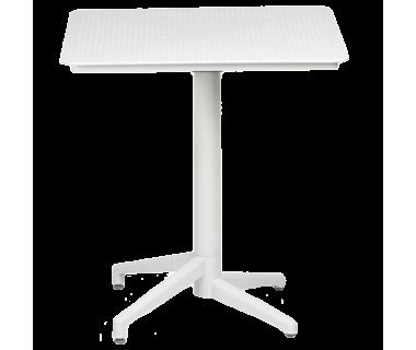 Стол Tilia Moon 70x70 см белая слоновая кость