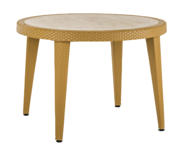 Стол Tilia Osaka d110 см ножки пластиковые цвет дерево