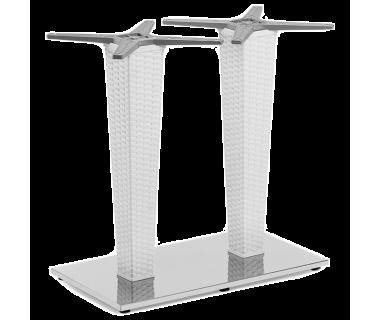 База стола Tilia Antares Double белая слоновая кость