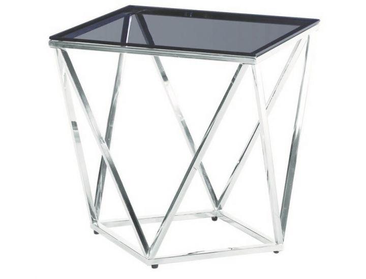 Стеклянный журнальный стол CP-2 тонированный