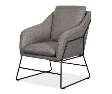 Кресло Дарио серое VETRO (Ветро)