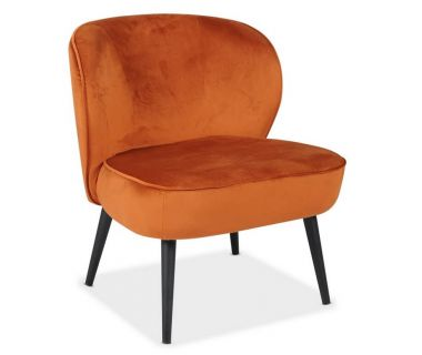 Кресло Фабио медный вельвет VETRO (Ветро)