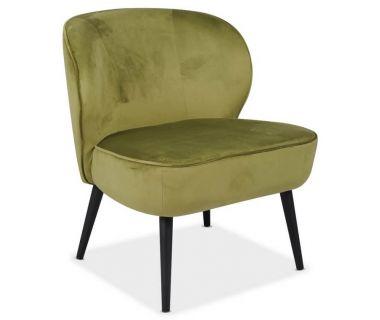 Кресло Фабио зеленый чай вельвет VETRO (Ветро)