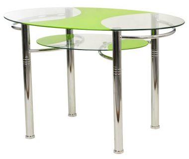 Стол обеденный T-211 зеленый 120*70*75см