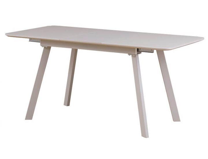 Раскладной стол TM-170 матовый капучино 120 (+40)*80*76 см