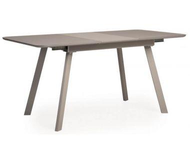 Раскладной стол TM-170 серый матовый 120 (+40)*80*76 см