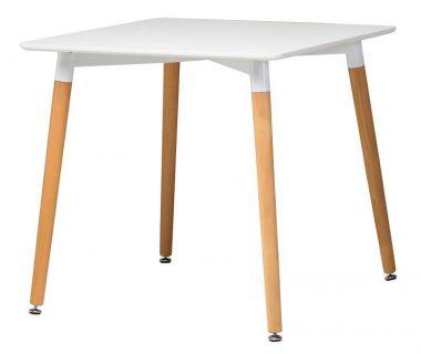 Стол обеденный TM-30 белый 80*80*76см
