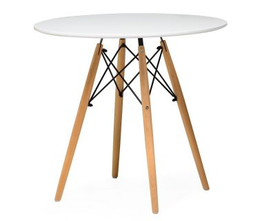 Стол обеденный TM-35 белый 80 см