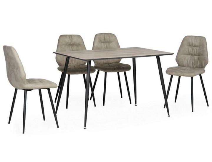 Стол обеденный  деревянный TM-45 сивый 120*80*75см
