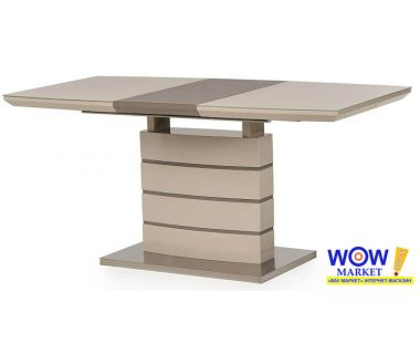 Раскладной стол TM-50-1 капучино+латте 120(+40)*80*76см
