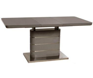 Раскладной стол TM-52-1 серый 120(+40)*80*76 см