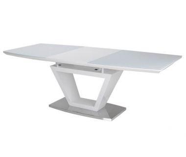 Раскладной стол TM-53 белый 160(+60)*90*76 см