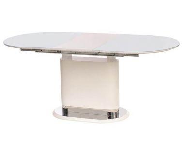 Раскладной стол TM-56 белый 140(+40)*80*76 см