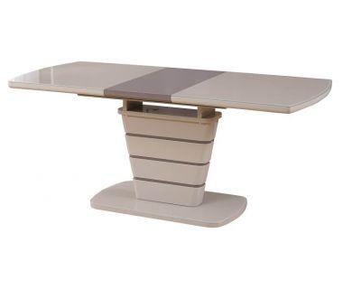 Раскладной стол TM-59 капучино-латте 140 (+40)*80*76 см