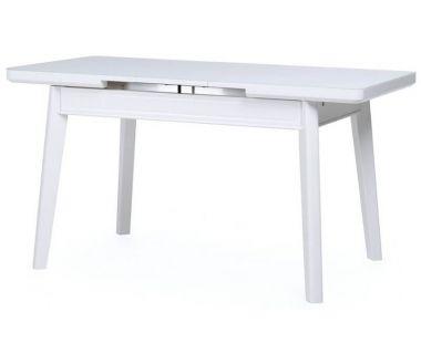 Стол раскладной TM-73 белый матовый 110 (+30)*70*75 см