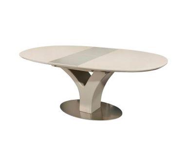 Раскладной стол TML-512 бежевый 160(+40)*95*76 см
