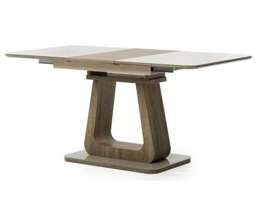 Стол раскладной TML-521-1 капучино-дуб 120 (+40)*80*76 см