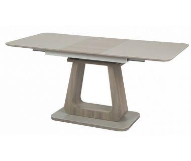 Стол раскладной TML-521-1 серый-дуб 120 (+40)*80*76 см