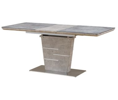 Раскладной стол TML-540 серый бетон 140 (+40)*80*75 см